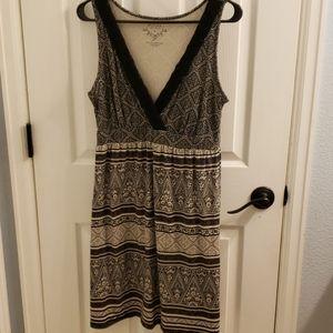 Sonoma Dress Black and White Size M